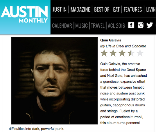 Quin Galavis Record Review: Austin Monthly