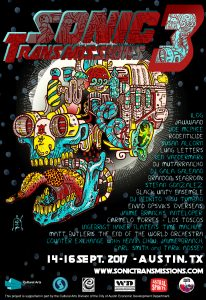Sonic Transmissions Festival III Poster