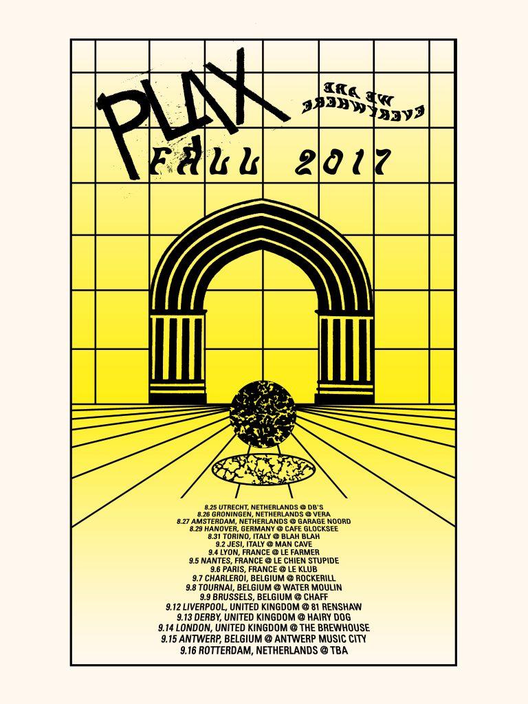 Plax European Tour 2017 Poster